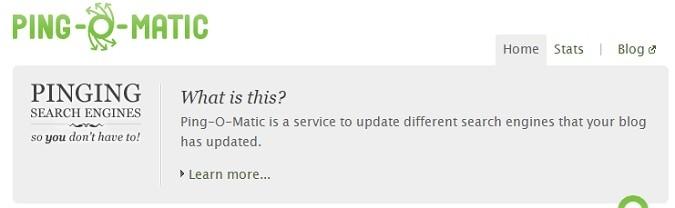 Ping-O-Matic Ping Service